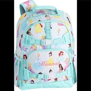 Pottery barn kids Disney princess backpack Zoey